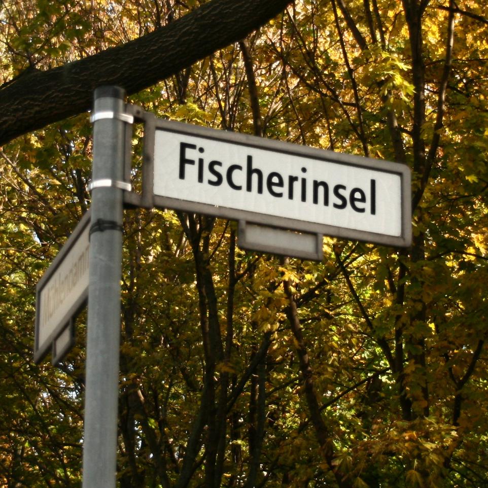 Straßenschild in der Berliner Stadtmitte
